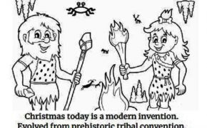"""Atheist Christmas Coloring Book"" Teaches How Christmas Was Created Through A Melting Pot of Traditions and Fairy Tales"