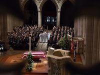 Former President and Patriot George H.W. Bush Honored at Ceremonial Funeral