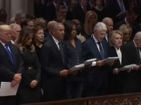 Trump Gets Heat for Not Reading the Apostles' Creed at Former President's Funeral