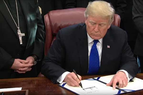 President Trump Signs Bill to Aid Religious Genocide Victims in Iraq and Syria
