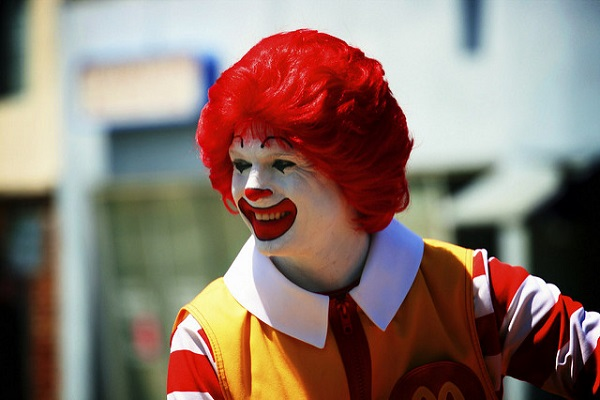 Enraged Israeli Arab Christians Protest Museum Crucified Ronald McDonald Display