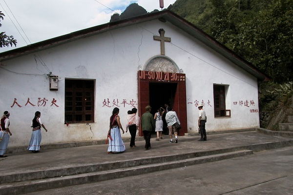 Christian Persecution Rises in China