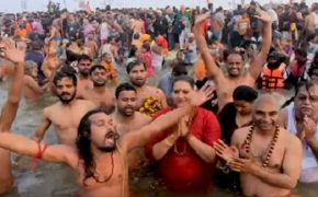 The Massive Hindu Kumbh Mela Festival Attracts Over 100 Million Visitors