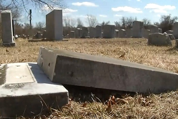 Historic Jewish Cemetery Defaced with Anti-Semitic Graffiti