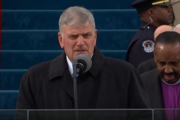 Franklin Graham Blasts Pete Buttigieg for Being Gay