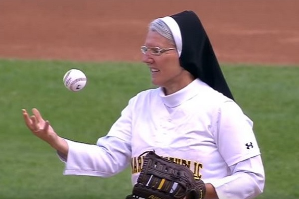 Meet the Nun Who Now Has Her Own Baseball Card