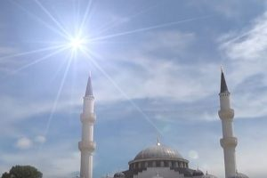After Arson Attack a New Haven Mosque Resumes Ramadan Rituals