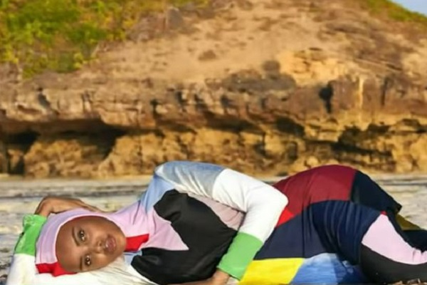 Making History! Sports Illustrated Features Burkini Model