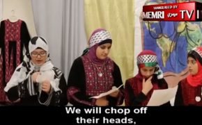 "Muslim American Society Video of Kids Saying ""We Will Chop Off Their Heads"""