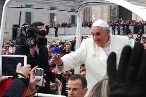 Pope Francis Laughs at Heresy Accusation