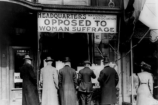 What Factor Did Faith Bring During The Women's Suffrage Movement?