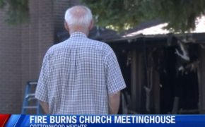 Fire at a Utah LDS Meetinghouse