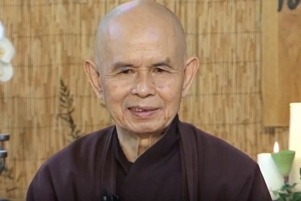 Zen Master Thich Nhat Hanh Receives the Luxembourg Peace Prize