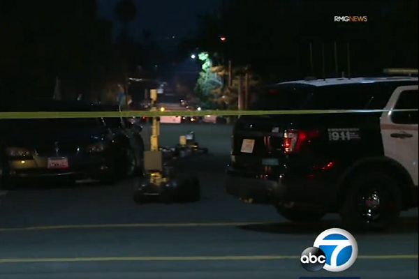 Pressure Cooker Left Outside Islamic Center Of Northridge Detonated by Bomb Squad