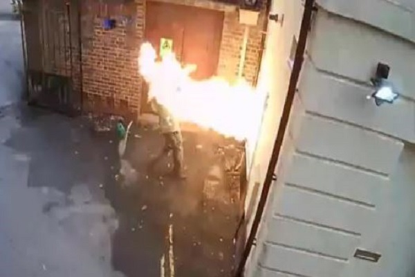 Fire Explodes in White Supremacist's Face While Trying to Burn Down a Synagogue