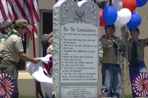 NM City Asking Residents to Help Pay Ten Commandments Lawsuit Fees