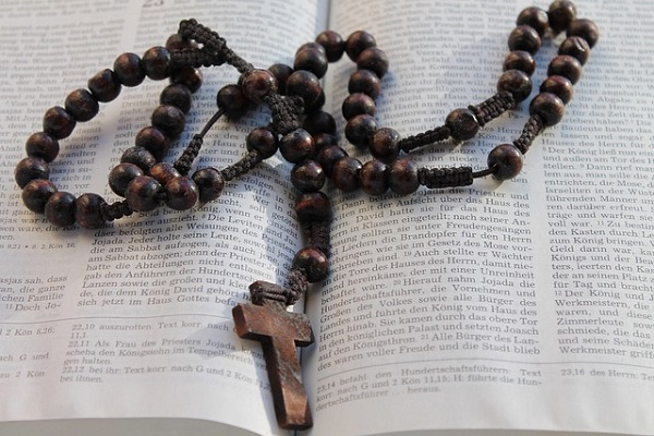 Rosaries from Pope Francis