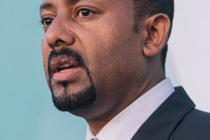 Ethiopian Prime Minister Abiy Ahmed Ali -- Photo by Aron Simeneh