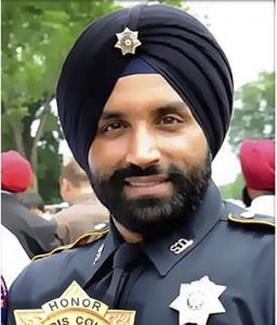 Harris County Sheriff's Deputy Sandeep Dhaliwal was shot and killed after making a traffic stop on Friday near Houston. The suspected gunman was charged with capital murder in the slaying.