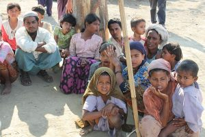 Displaced Rohingya peope in Rakhine State By Foreign and Commonwealth Office - Flickr, OGL