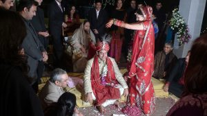 Indian Hindu Wedding, photo by By Will - Flickr Wikimedia Commons