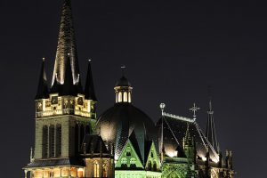 Aachen Cathedral By Christian Wehrle - Own work, CC