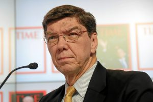 Clayton Christensen photo by World Economic Forum Wikimedia Commons