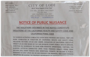 Lodi Church Controversy