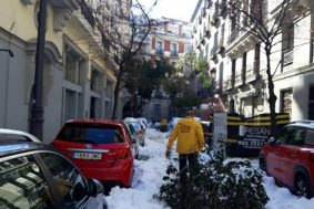 With the Pandemic Raging in Spain, Scientology Volunteer Ministers of Madrid Help the City Dig Out From the Worst Blizzard in 50 Years