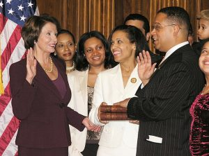 Keith-Ellison-the-first-Muslim-elected-to-Congress-takes-his-oath-of-office-on-Jeffersons-Quran